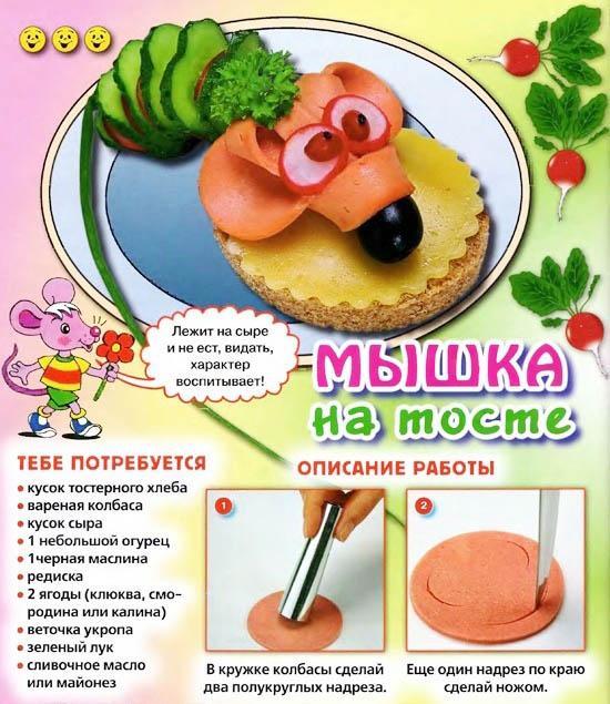 Простые рецепты для детей своими руками 855