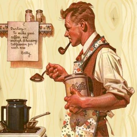 Когда мужчина на кухне...