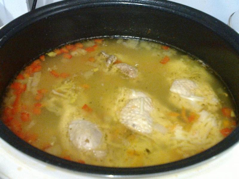 Куриный суп в мультиварке Redmond!