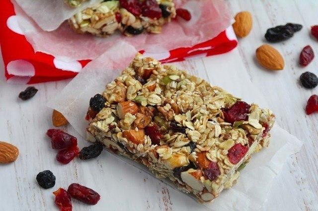 Злаково-ореховое очень вкусное и полезное печенье без выпечки!