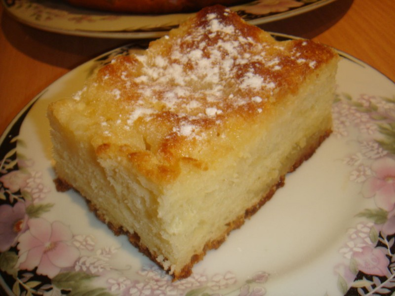 сахарный пирог рецепт с фото пошагово нему